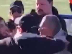 Family brawl at soccer game