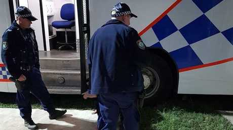 Police have arrested three juvenile trespassers in the grounds of Splendour in the Grass.