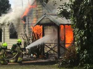 Two people treated by paramedics after fire