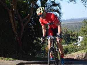 David Chick on day one at Velothon Sunshine Coast.