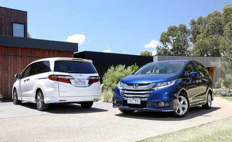 road test honda odyssey vti l gains extra safety tech noosa news. Black Bedroom Furniture Sets. Home Design Ideas