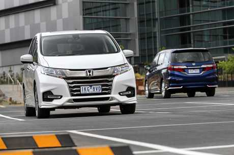 Honda's range-topping people-mover, the seven-seat Odyssey VTi-L.
