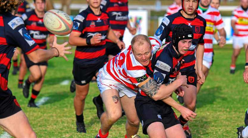 DOUBLE PRESSURE: Grafton has no option than to roll the Snappers and take a bonus point.
