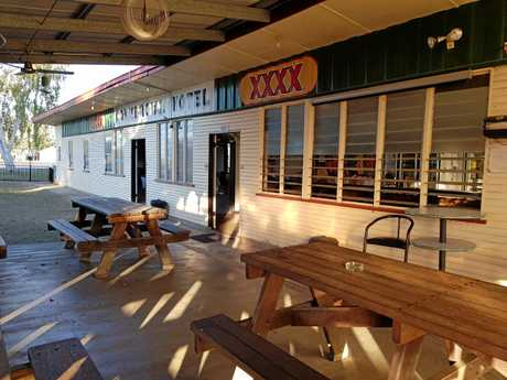 COUNTRY PUB: The Commercial Hotel in Wowan.