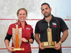 Class shows in squash a decade apart as new champs crowned