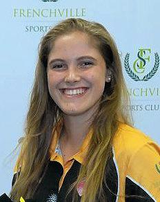 Training partner Liezel Viljoen will play with the Claws this weekend.