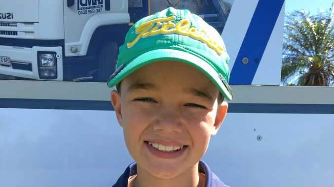 Proserpine junior golfer Rian Mitchell took out the 9 Hole Division 2 Gross Runner Up last Thursday.