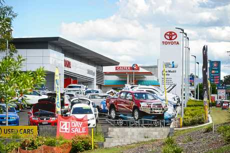 John Madill Toyota dealership in Gympie. Photo Renee Albrecht/Gympie Times