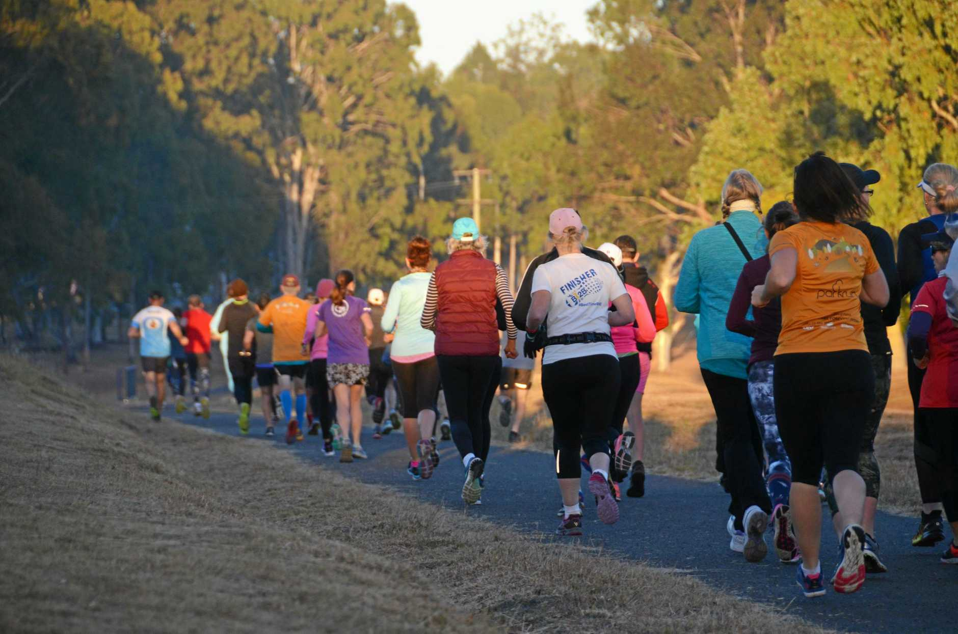 LACE UP: Parkrun is on again.