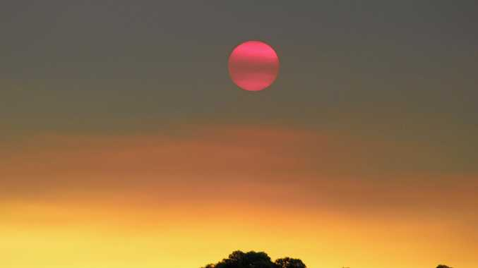 Explained: What caused the red sunset?