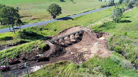 Rattler bridges: Gilldora.