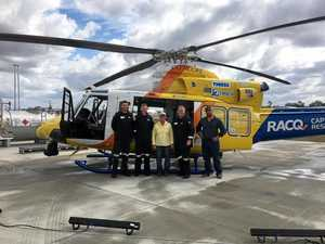 'I was clinically dead': how a rescue chopper saved my life