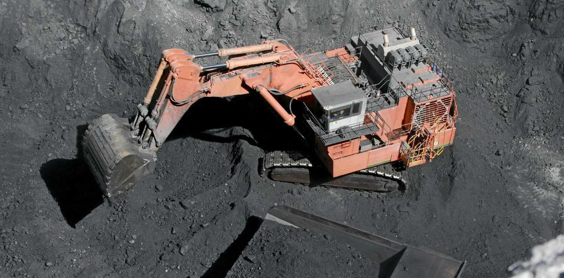 Macarthur Coal's Coppabella Mine southwest of Mackay.