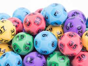 Coast businessman wins $100k in 'lucky lotto'