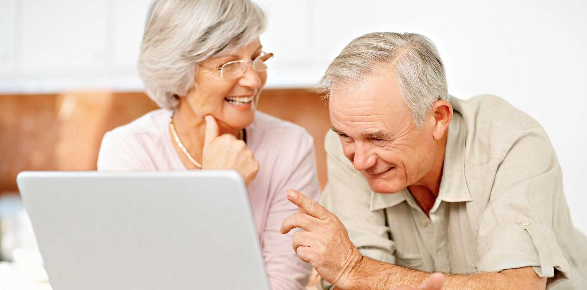 APPY SENIORS: There are courses for the over 55s which offer a great introduction to the digital world.
