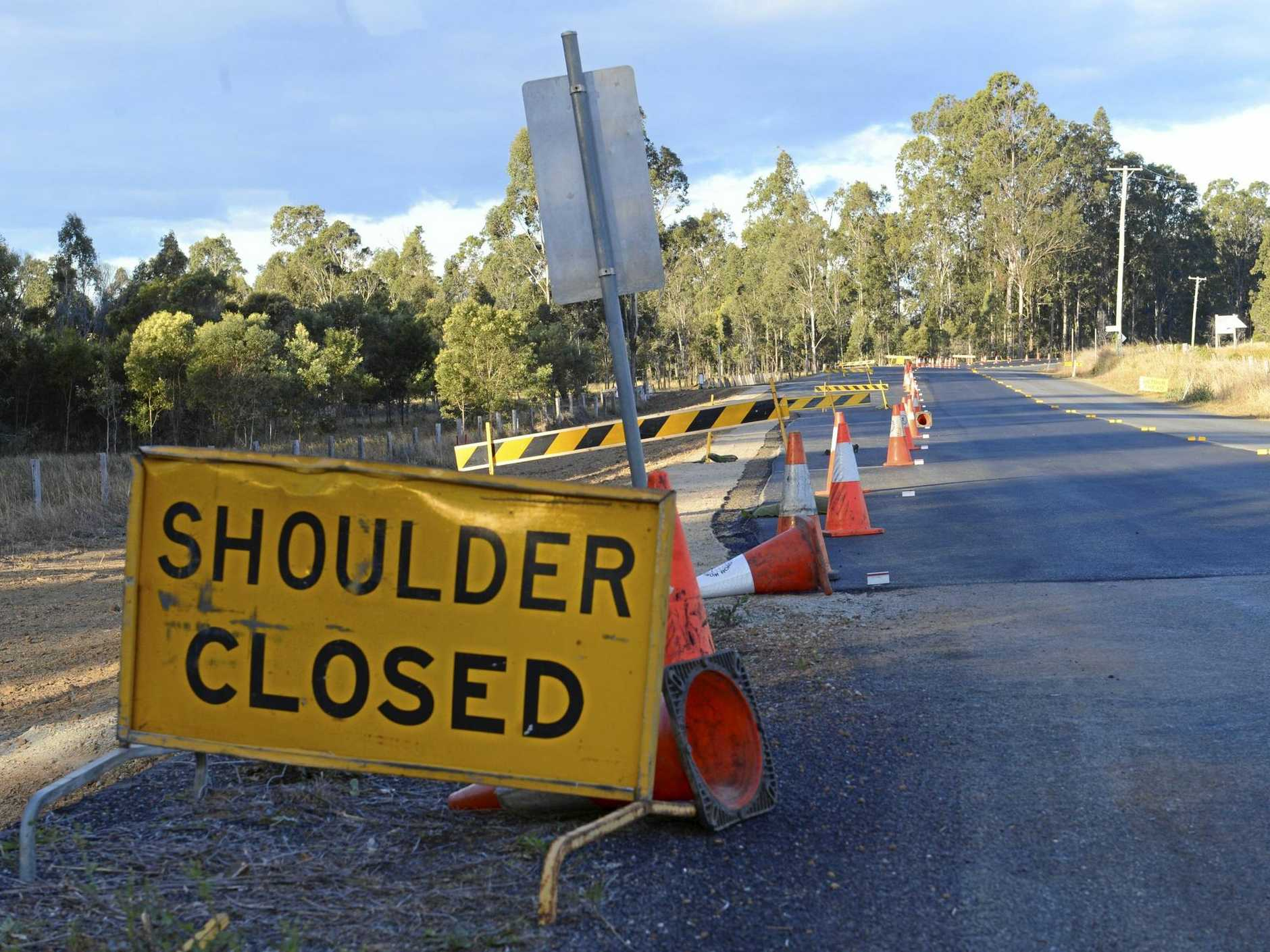 Roadwork on the Pacific Highway will disrupt traffic.