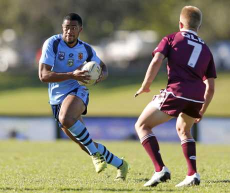 Jassn Saab participates in the first Australian Schoolboys Rugby League Championships in the Tweed since 1998.