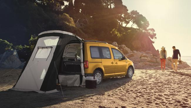 Volkswagen Caddy Beach.