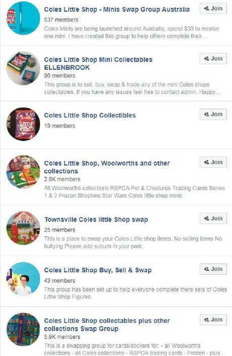 Swap groups are popping up on Facebook.