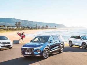 Seven-seat SUV comparison:  Santa Fe vs Kodiaq and Sorento