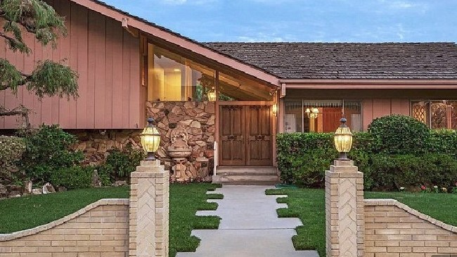 The famous Brady Bunch House is up for sale. Picture: Zillow
