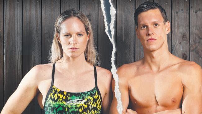 Emily Seebohm and Mitch Larkin's break-up sent shockwaves through Australian swimming.