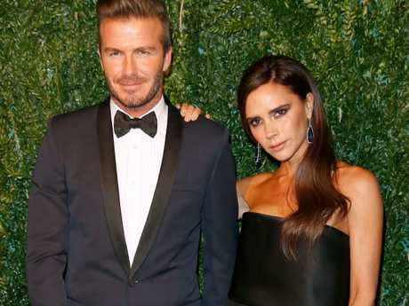 Posh and Becks aren't short of a quid. Picture: Getty Images