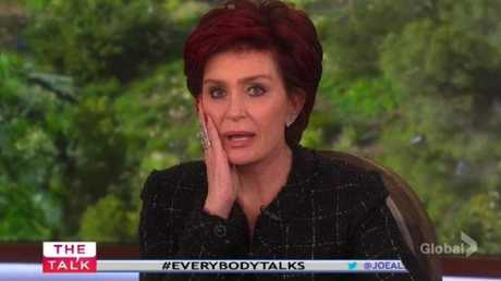 Sharon Osbourne slammed Thomas Markle on US TV.