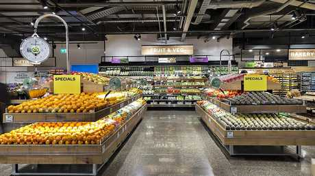 The Woolworths Metro Pitt St has an industrial look.