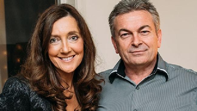 Karen Ristevski with her husband Borce. Picture: Supplied