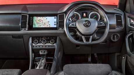 Photo of the Skoda Kodiaq interior