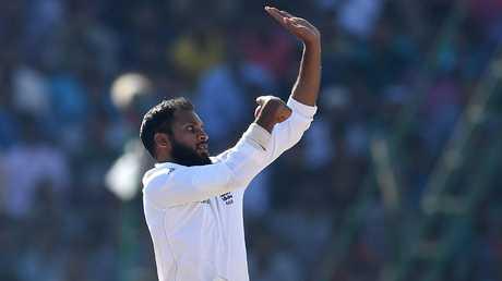 Adil Rashid ended Sharma's innings.