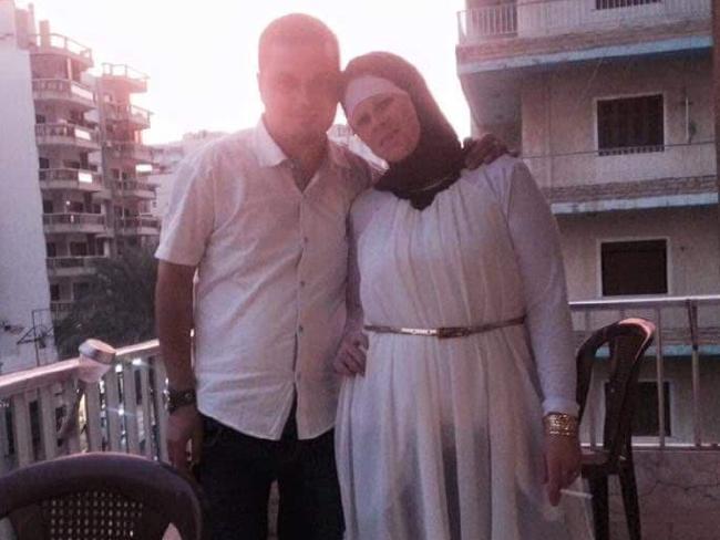 Ashlee Brown and husband Mohamed Naddaf.
