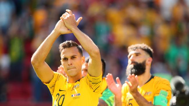 Trent Sainsbury is keen on a move to Europe — but is facing serious hurdles. Picture: Getty
