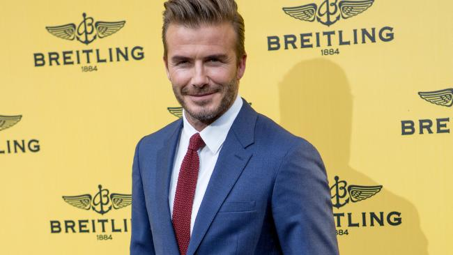 David Beckham has deep pockets, and he's a sports nut too. Picture: Pablo Cuadra/Getty