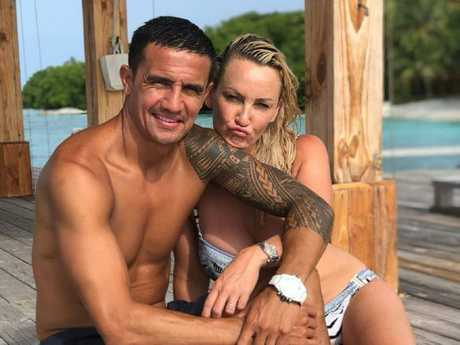 Tim Cahill made the decision with his family on holidays in the Maldives after the World Cup. Picture: Instagram