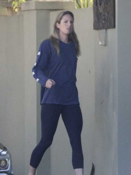 Emily Seebohm leaves her Queensland after separating from her partner Mitch Larkin. Picture: AAP