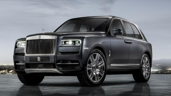 2018 Rolls-Royce Cullinan.