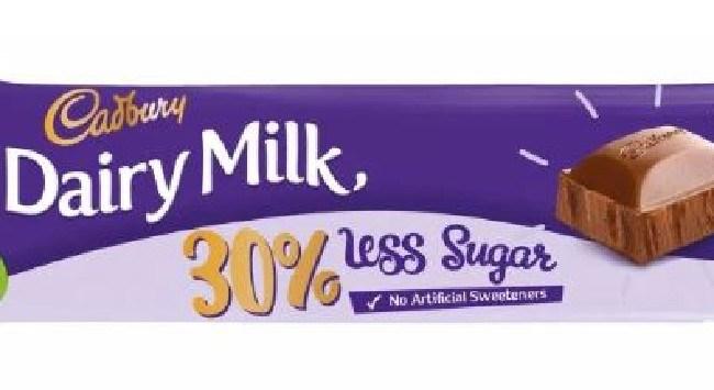 The new low calorie Cadbury bar claims to taste the same as the original.