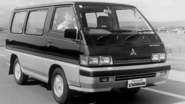 Mitsubishi Starwagon: Family car for Cummins and seven siblings