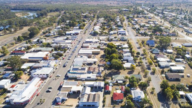 The town of Mundubbera would be hit hard if the taps are turned off to protect the water supply for Tarong power station. Picture: Lachie Millard