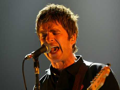 Noel Gallagher, pictured, and brother Liam have been feuding for a decade. Picture: Tony Gough.