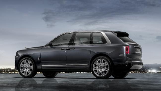 High-roller: The Rolls-Royce Cullinan is the brand's first SUV.