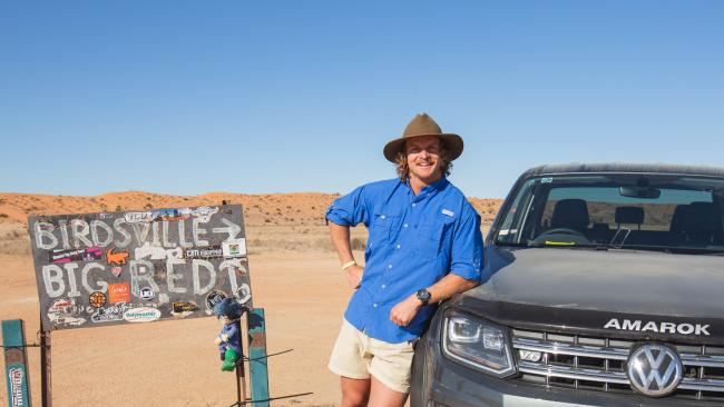 Nick Cummins with VW Amarok