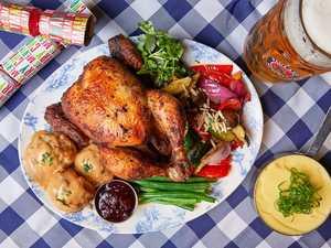 German restaurant brings Christmas to July