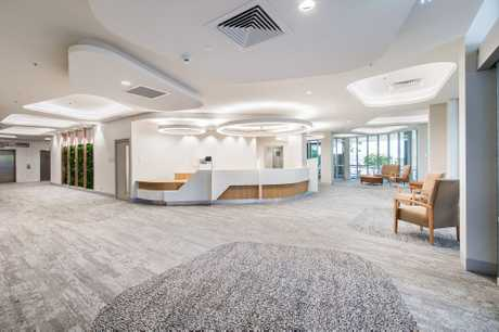 The Project of the Year Award went to Hutchinson Builders for the refurbishment of St Vincent's Private Hospital.