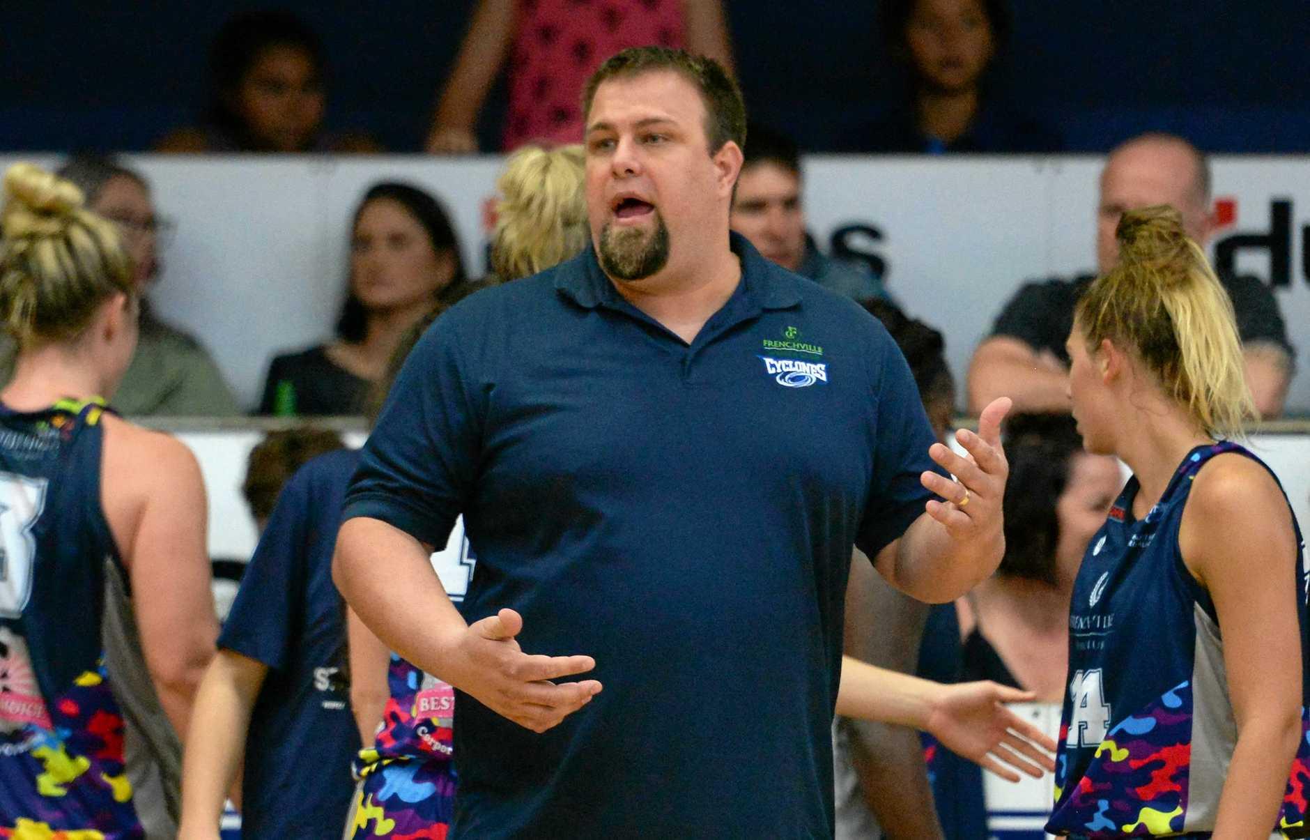 Cyclones coach Chris Muggeridge: