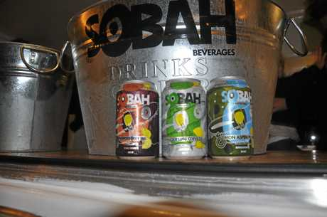 The Sobah Beverages were an instant hit in the North Burnett.