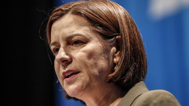 Deb Frecklington will run her first Estimates assault as LNP Leader. Picture: AAP/Glenn Hunt