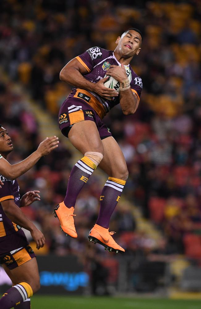 Jamayne Isaako's impressive outing at fullback means the switch will likely remain permanent. Picture: Dave Hunt/AAP